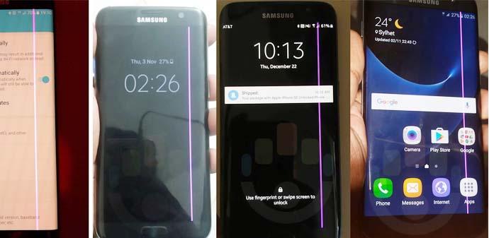 Penyebab layar hape smartphone bergaris