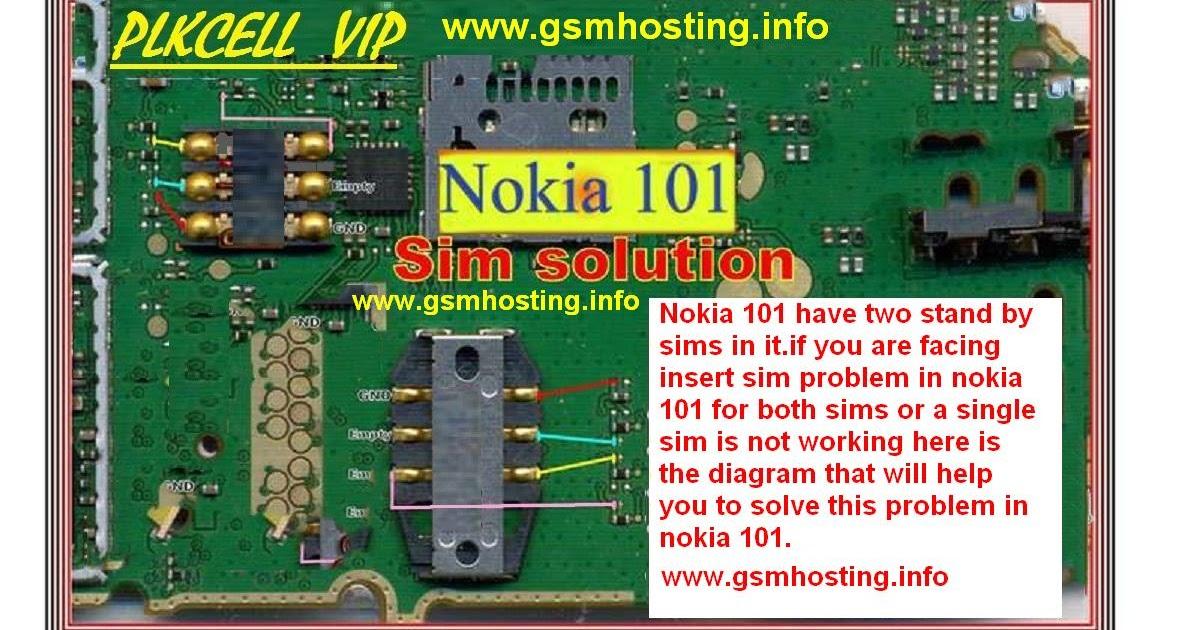 cellfirmware: Nokia 101 Insert Sim Problem Solution