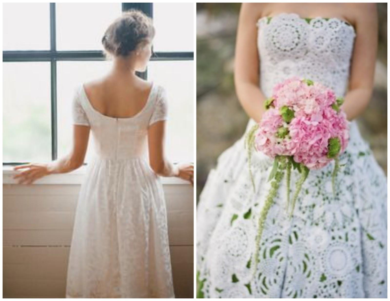 EmmaAnneMade: Weekend Inspiration: Handmade Wedding Dresses