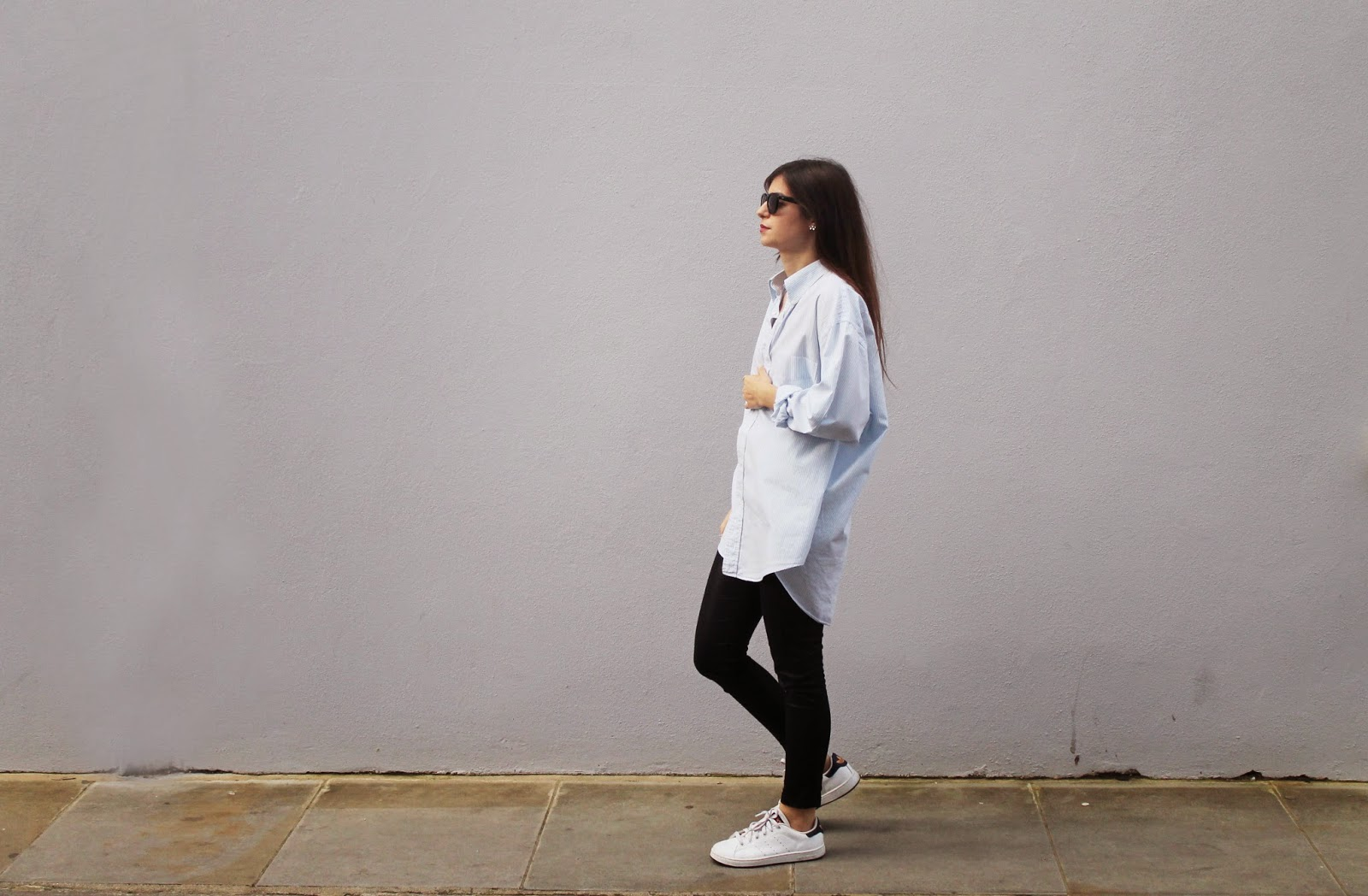 casual luxe, oversized shirt, borrowed from the boys