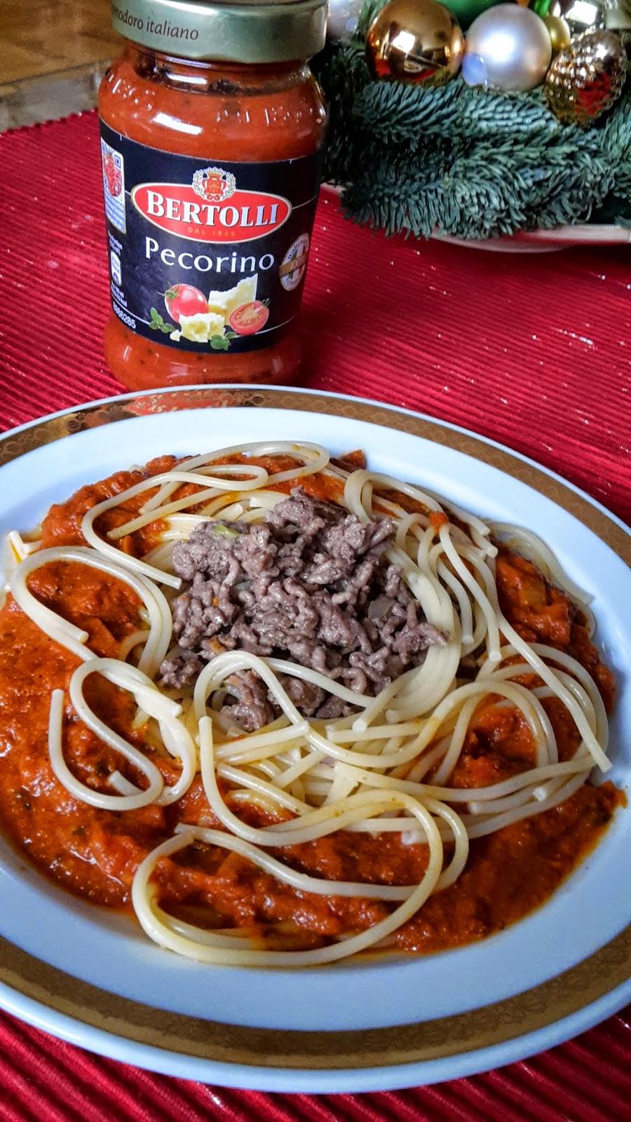 Pastasauce Bertolli Pecorino