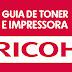 Guia de toner e impressoras - Ricoh