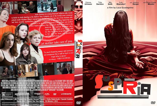 Suspiria DVD Cover