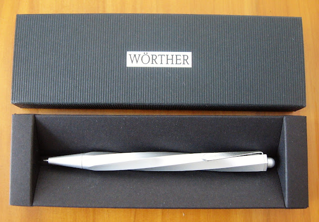 worther spiral mechanical pencil