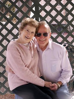 old happy couple