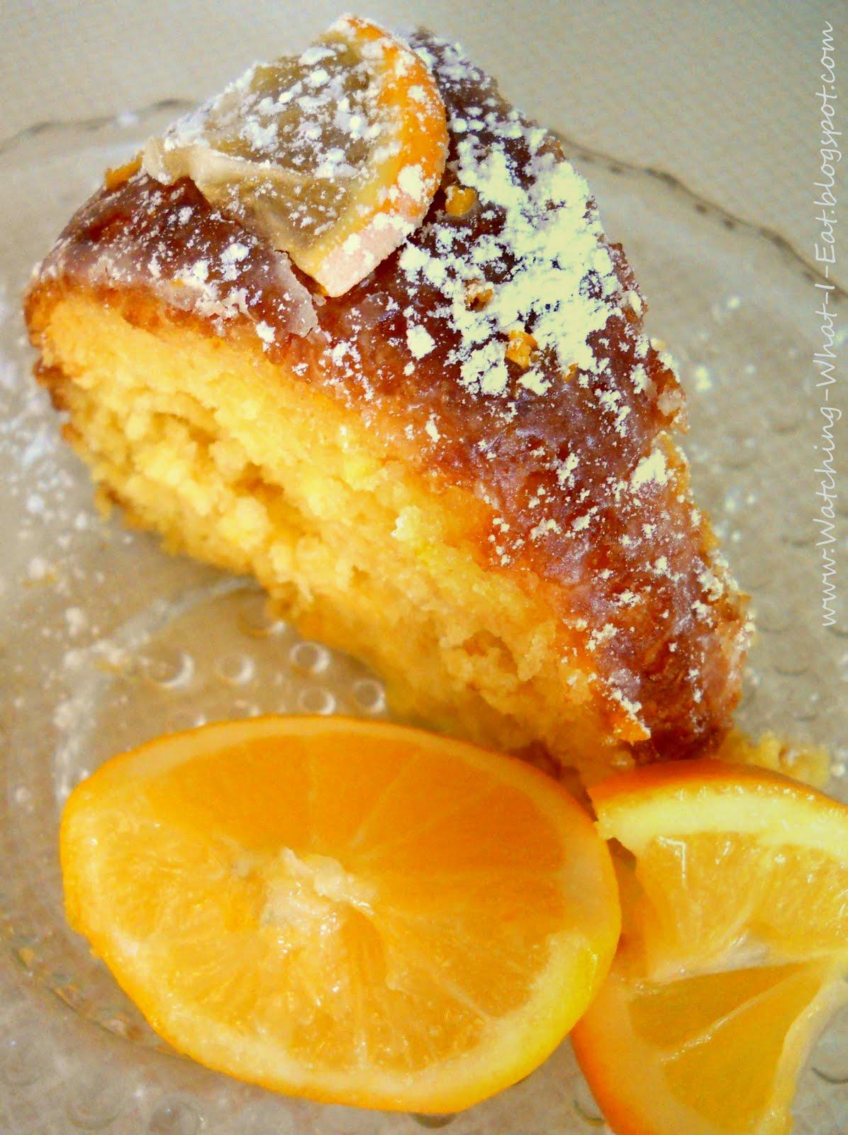 Lemon Bundt Cake With Limoncello Glaze