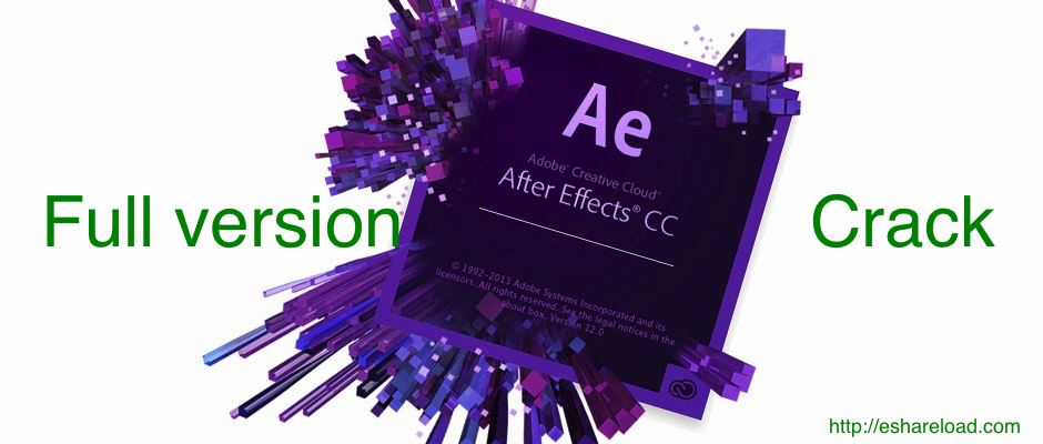 after effects cc 2014 download crack