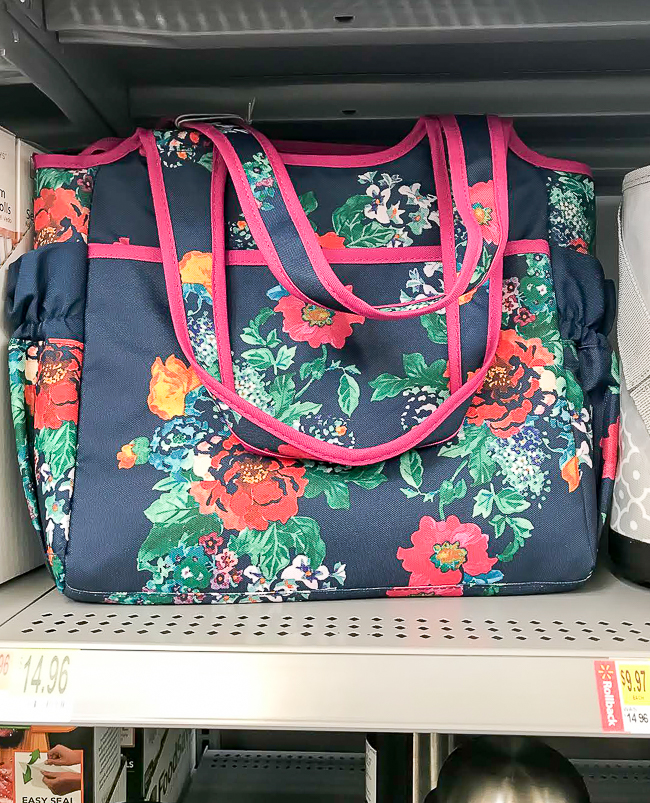 The Pioneer Women insulated tote from Walmart
