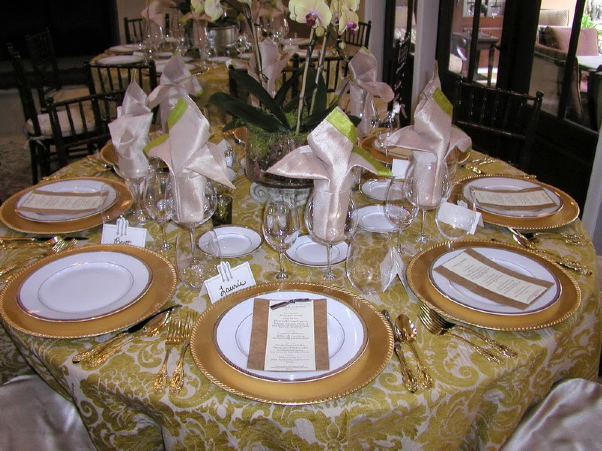 Home Priority: Beautiful Table Setting Ideas