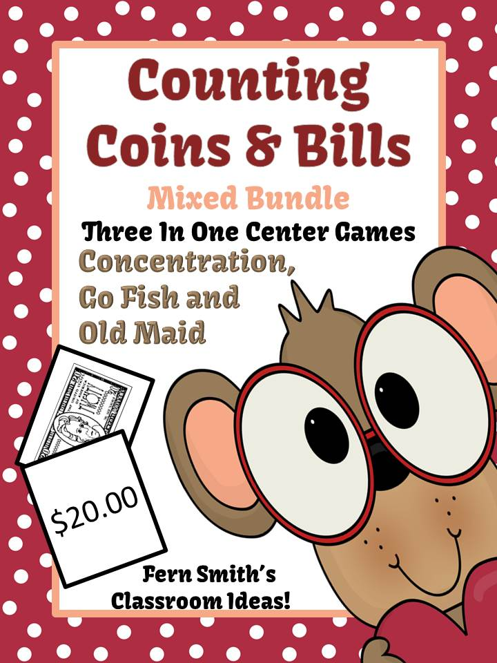 http://www.teacherspayteachers.com/Product/Discounted-Bundle-Valentines-Money-Bills-and-Coins-Center-Games-Packets-1025418