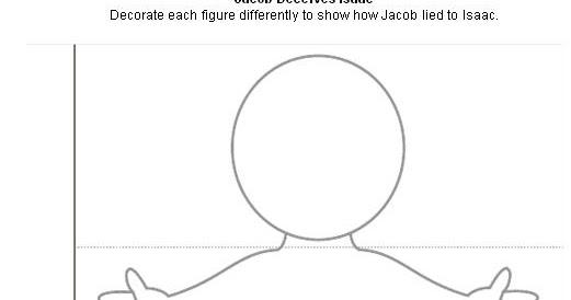 BIBLE CRAFTS FOR KIDS: Jacob Deceives Isaac