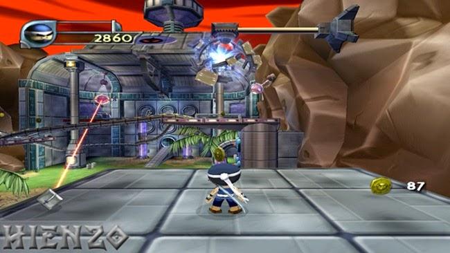 I-Ninja PC Gameplay