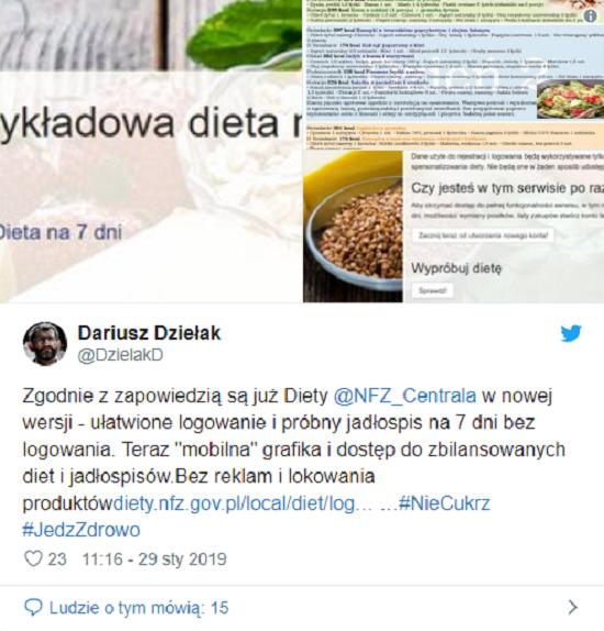 Sloneczne Nfz Bierze Sie Za Diety Polakow Stworzyl Strone