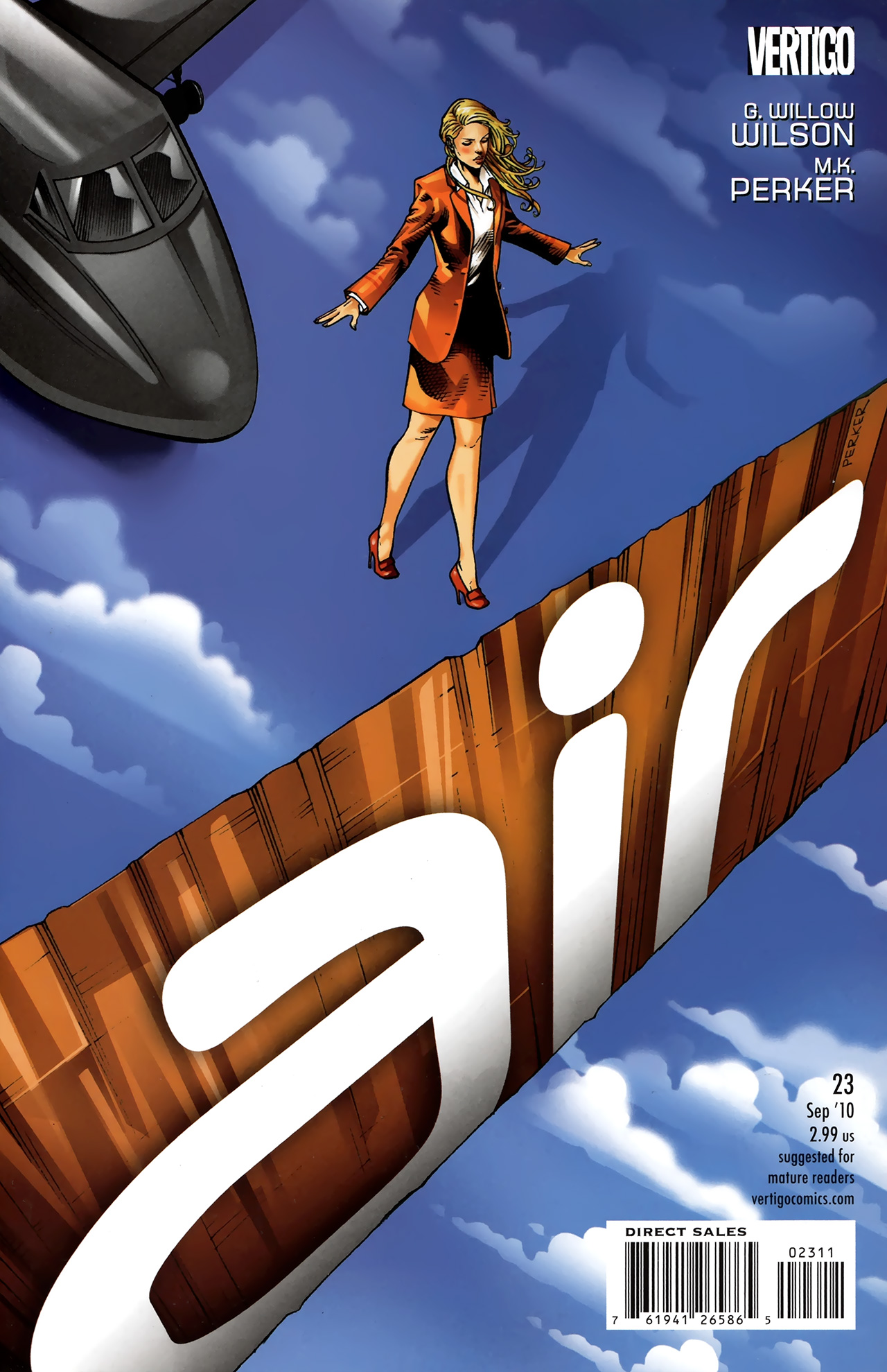 Read online Air comic -  Issue #23 - 1
