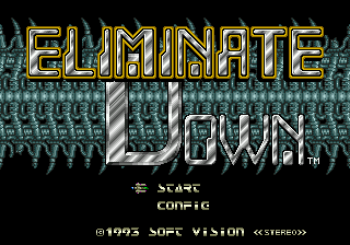 eliminate down megadrive