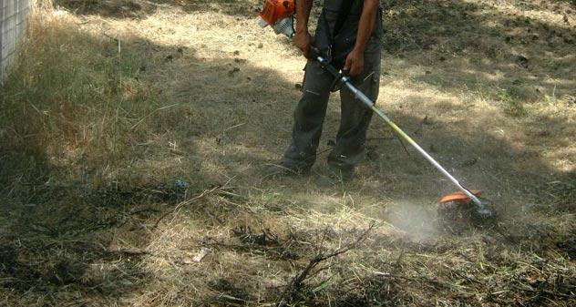 Καθαρισμός οικοπέδων,στον Δήμο Πολυγύρου με αφορμή την έναρξη της αντιπυρικής περιόδου