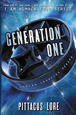 Generation One by Pittacus Lore book cover