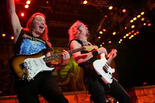 Adrian Smith dan Dave Murray - Iron Maiden