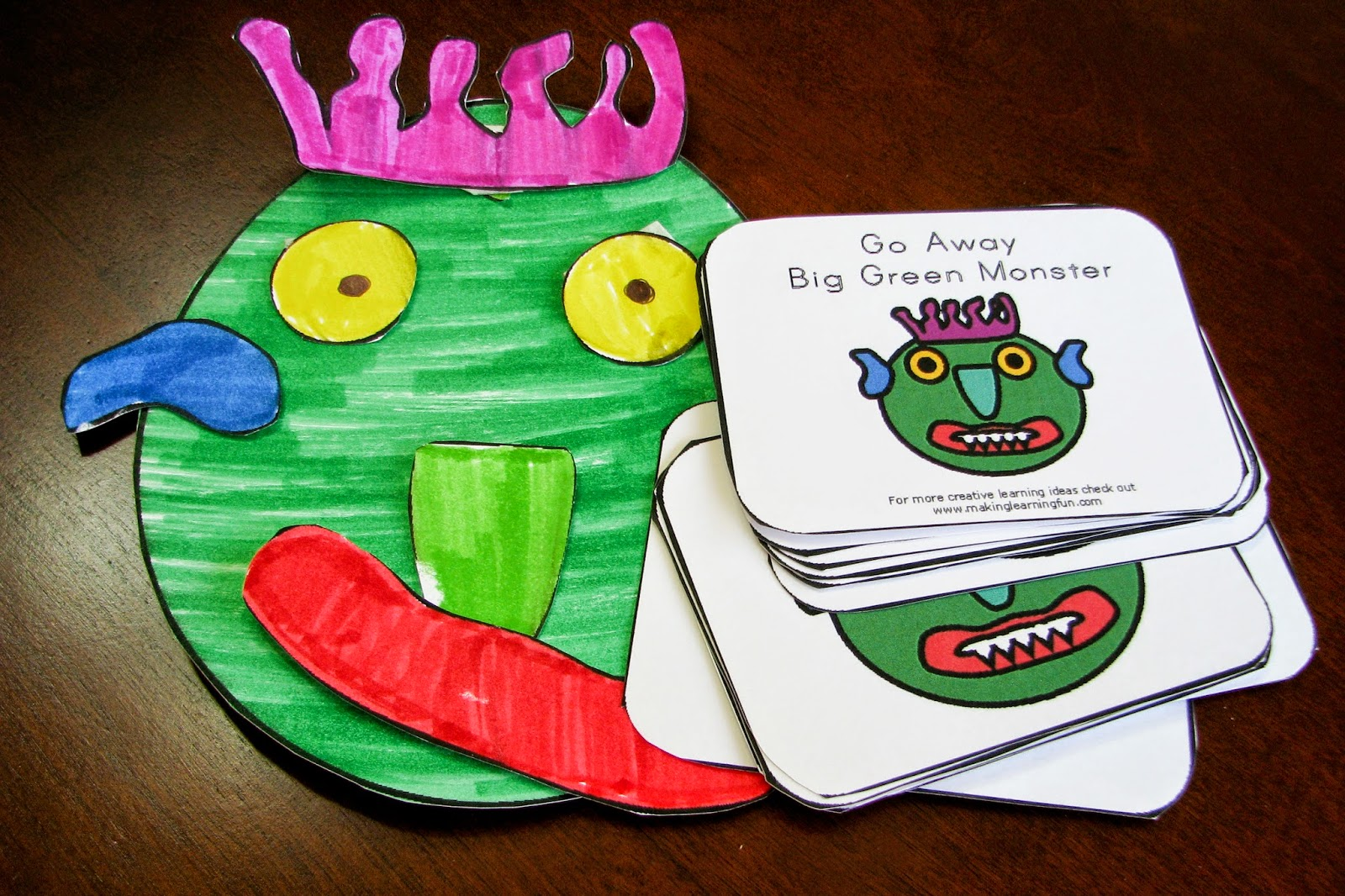Mommy S Little Helper Monster Preschool Theme