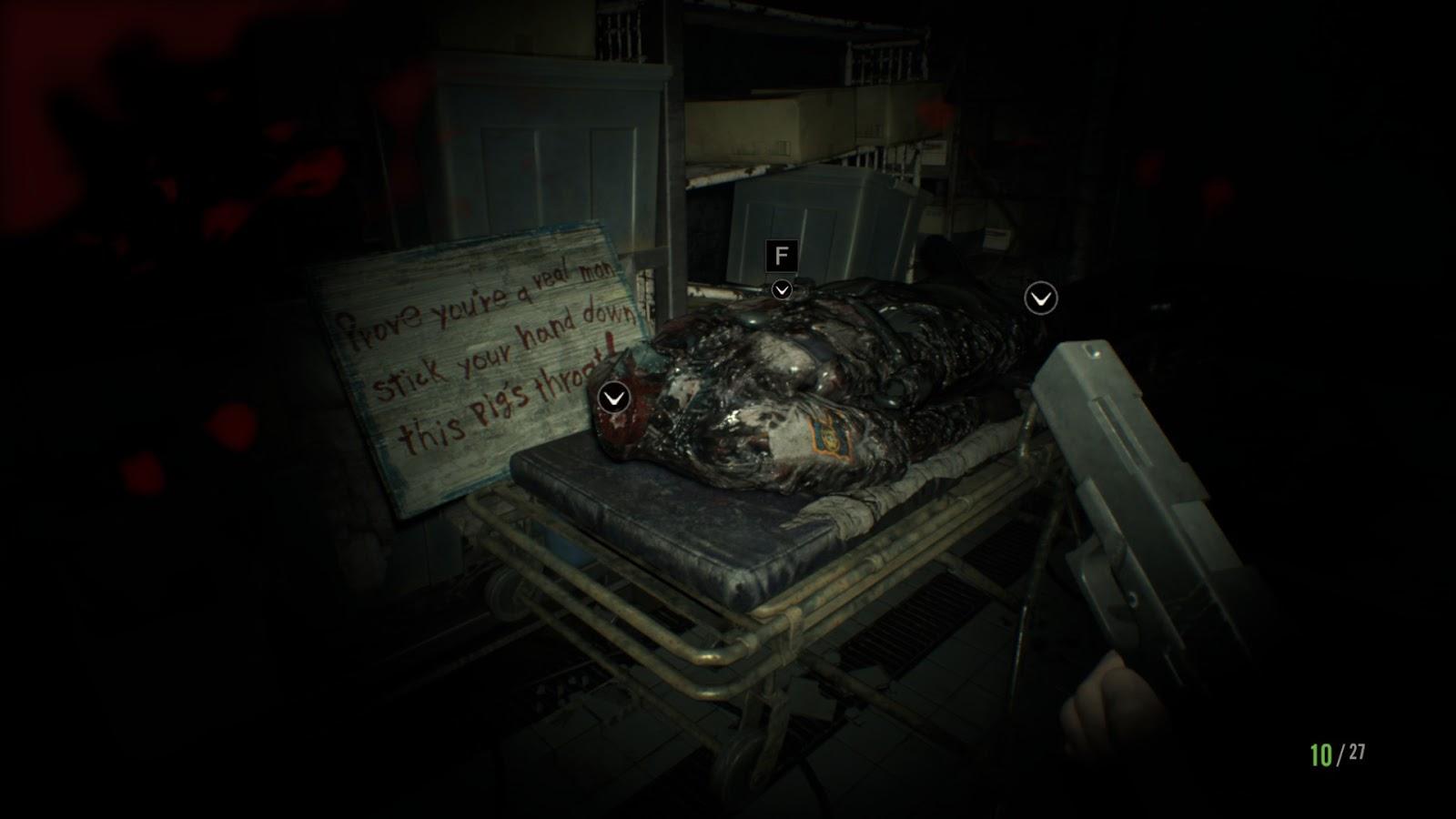 The Nocturnal Rambler Resident Evil 7 Survival Horror S Back Baby