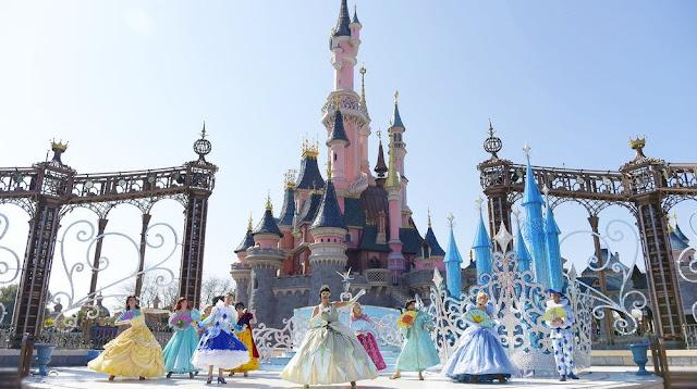 Entrada da Disneyland Paris