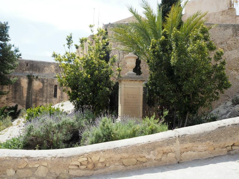 In the castle of Alicante