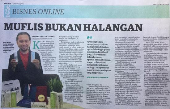 11 Nasihat Hafiz Mansor Pengasas CoolHijab Kepada Graduan Melayu