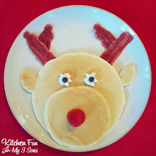 Image result for reindeer pancakes