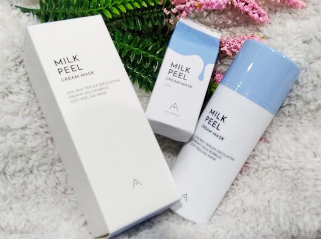 Althea Milk Peel Cream Mask | Masker Susu Terbaik