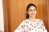 Lavanya Tripathi in Summer Style Spicy Short White Dress at her Interview  Exclusive 212.JPG