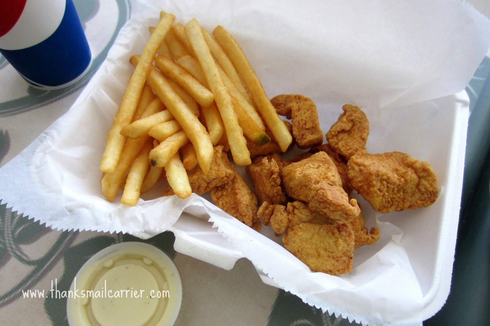 Gyros Express chicken nuggets