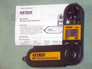 Jual Extech 45158 Mini Thermo-Anemometer with Humidity