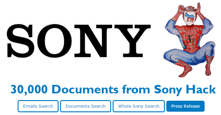 Wikileaks Publishes 30,000 Searchable Documents from the Sony Hack