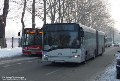 Solaris Urbino 18 z firmy BTS Wyględy