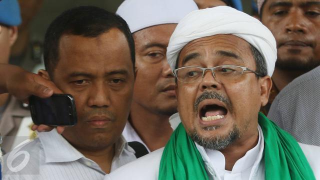 Akhirnya Habib Rizieq Ngaku Jika Dirinya Dicekal Dan Akan Dilarang Ke Arab Saudi