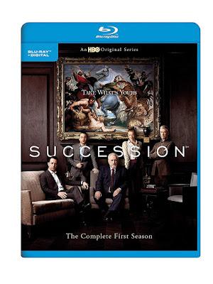 Succession Season 1 Blu Ray