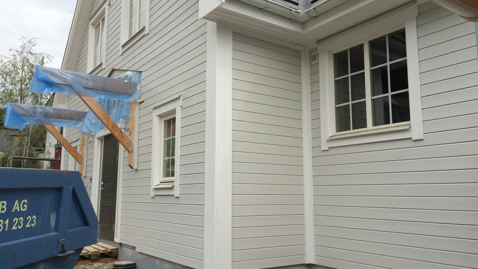 Fassadenfarbe hellgrau  Shades of Grey - unsere Fassadenfarbe! - Beachhouse Living