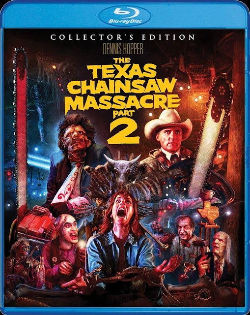 The Texas Chainsaw Massacre Part 2 Blu-ray cover