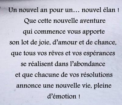 Textes Messages De Bonne Année Poèmes Et Textes Damour
