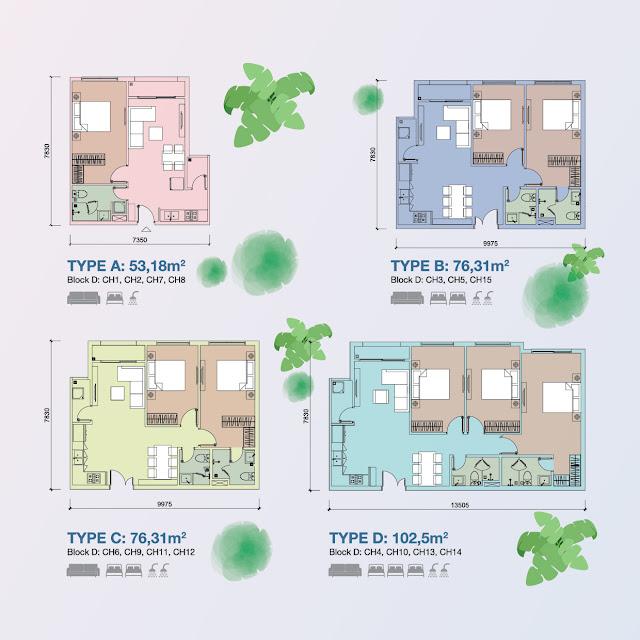 Thiết kế chung cư Centa Park quận Tân Bình