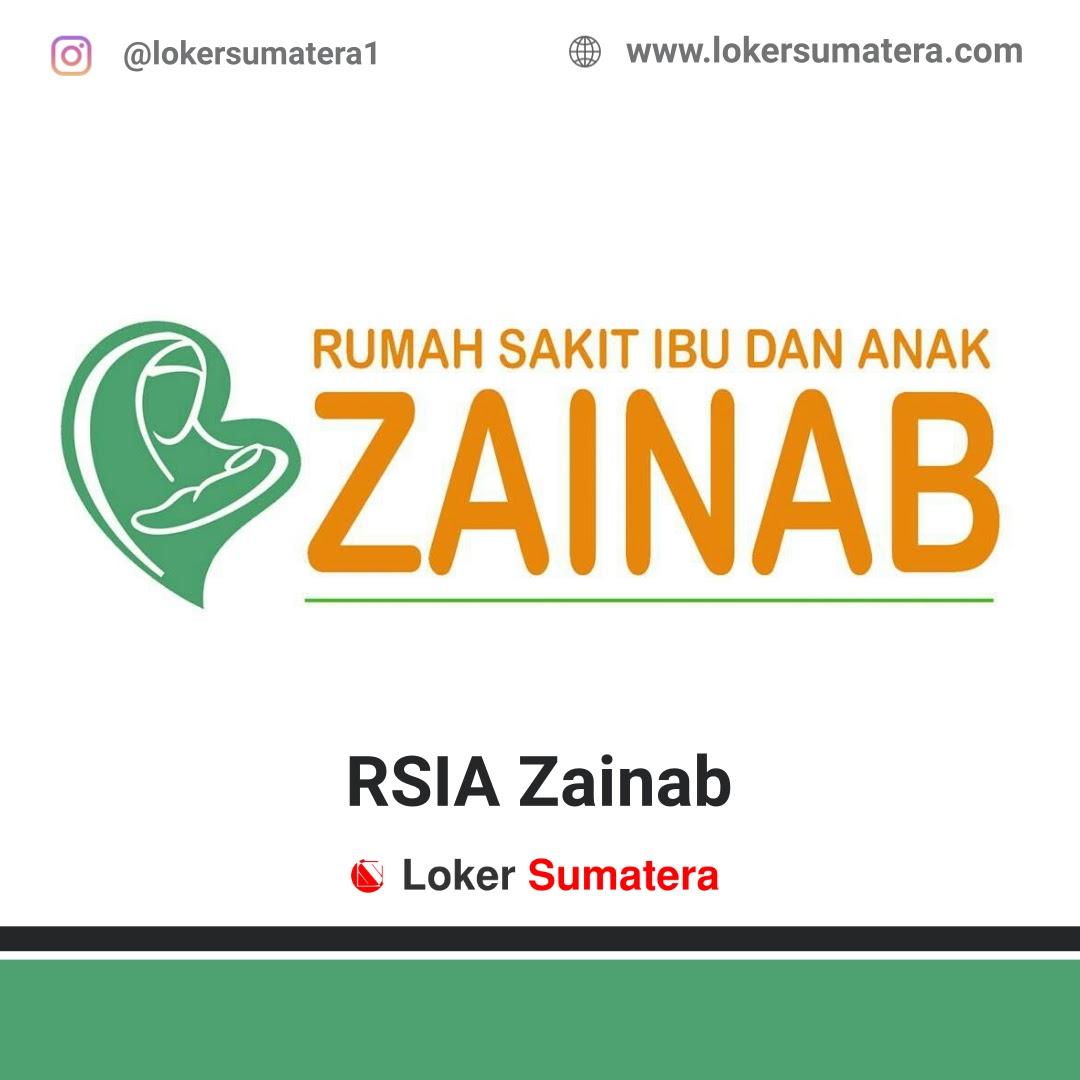 Lowongan Kerja Pekanbaru: RSIA Zainab Desember 2020