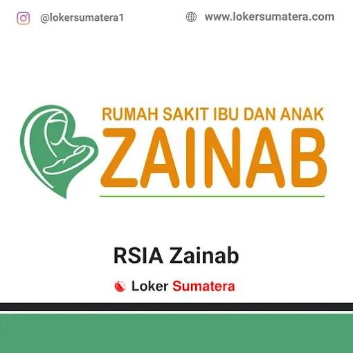 Lowongan Kerja Pekanbaru, RSIA Zainab Juli 2021
