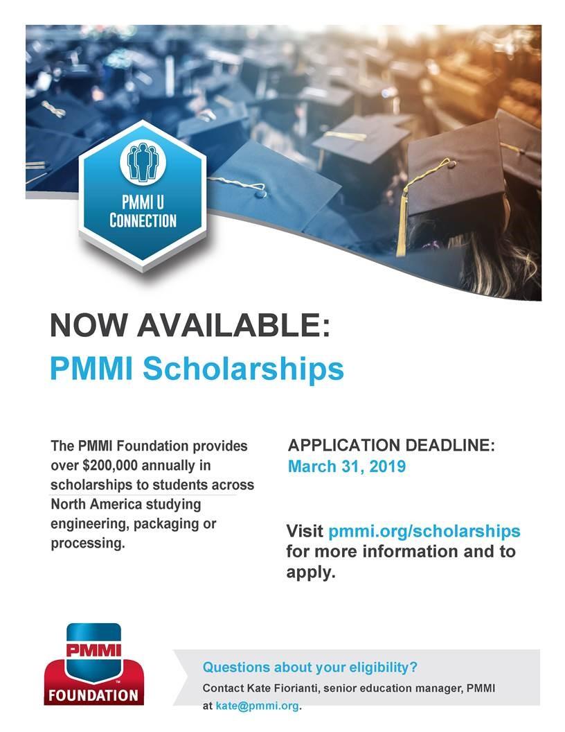 Uf Application Deadline >> Abe Undergraduate News And Notes 2019 Pmmi Scholarships