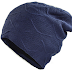 Winter Double Layer Plus Velvet Knit Beanie Hat