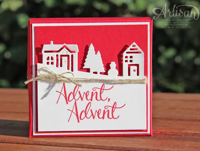 Adventskalender-Stampin Up
