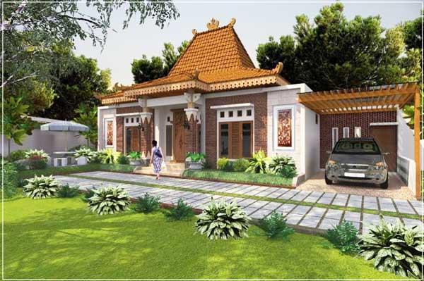 model rumah desa minimalis