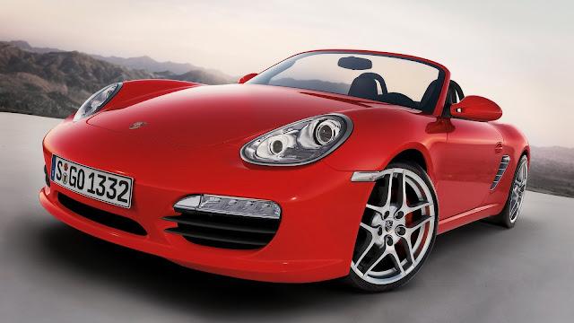 Crveni automobil Porsche Boxster S download besplatne pozadine za desktop 1920x1080 HDTV 1080p