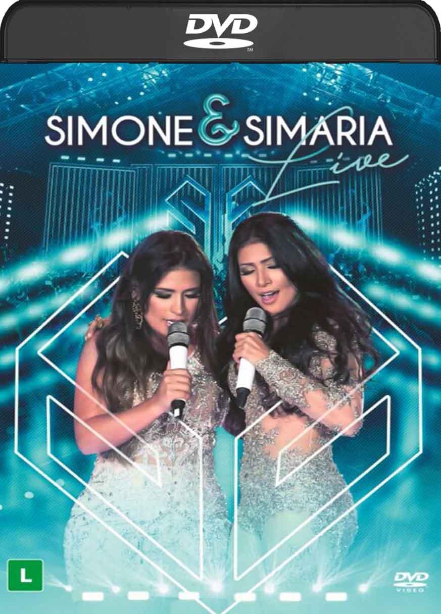 Simone e Simara Live (2016) DVD-R Oficial