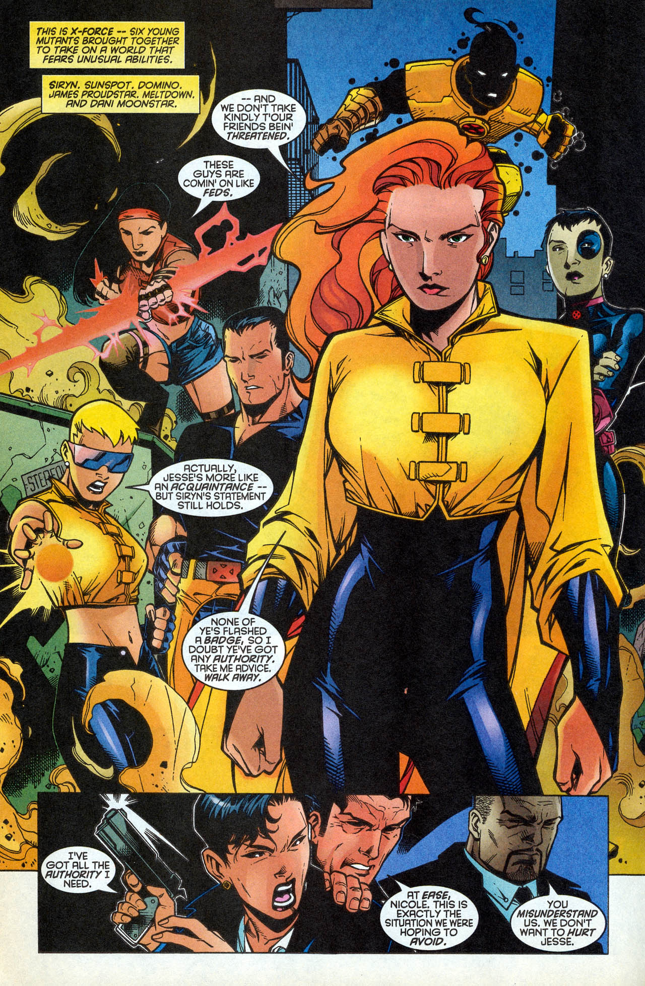 Read online X-Force (1991) comic -  Issue #83 - 21
