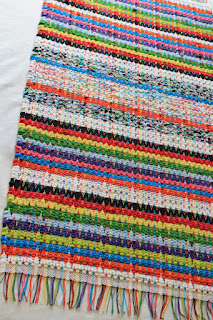 rag rug road braided rug for a dorm room floor